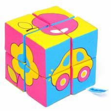 Набор мягких кубиков «Собери картинку. Предметы» Мякиши