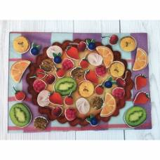 Набор дидактический «Вкусный пирог» с игровым полем Lip Lip
