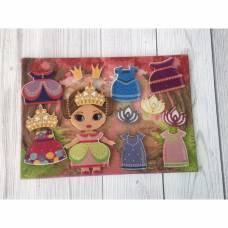 Набор дидактический «Маленькая принцесса» с игровым полем Lip Lip
