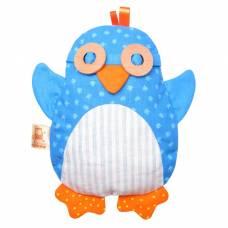 Развивающая мягкая игрушка с вишнёвыми косточками «Доктор Мякиш Пингвин» Мякиши