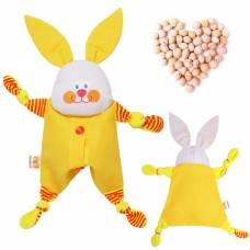 Развивающая игрушка с вишнёвыми косточками