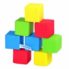 Набор мягких кубиков «4 цвета» Мякиши