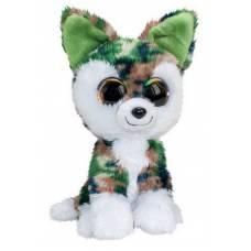 Волк Woody, серо-зелёный, 15 см. Lumo Stars