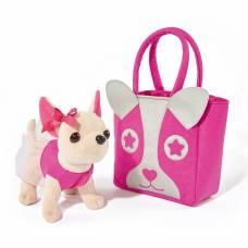 Мягкая игрушка Чи Чи Лав - Собачка Чихуахуа с розовой сумочкой, 20 см Simba