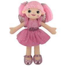 Кукла мягконабиваная, балерина, 30 см, цвет розовый ABtoys
