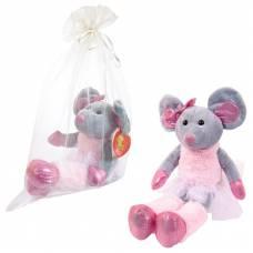 Мышка балерина в юбке-пачке, 30 см игрушка мягкая в подарочном мешочке_СИМВОЛ ГОДА 2020! ABtoys
