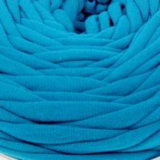 Пряжа трикотажная широкая 50м/160гр, ширина нити 7-9 мм (100 сине-зел.) Елена и Ко