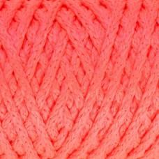 Шнур для вязания без сердечника 100% полиэфир ширина 4мм 100м (роз.люмин.) Sima-Land