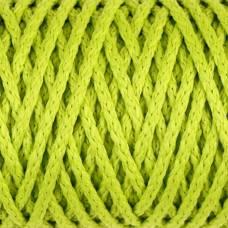 Шнур для вязания без сердечника 100% полиэфир ширина 4мм 100м (салатовый) Sima-Land
