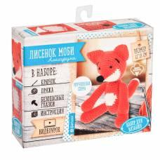 Мягкая игрушка «Лисенок Моби», набор для вязания, 10 × 4 × 12 см Арт Узор