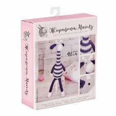 Амигуруми: Мягкая игрушка «Жирафик Майлз», набор для вязания, 10 × 4 × 14 см Арт Узор