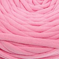 Пряжа трикотажная широкая 50м/160гр, ширина нити 7-9 мм (120 розовый) Елена и Ко