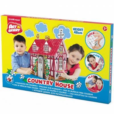 Игровой домик для раскрашивания ArtBerry - Country House Erich Krause