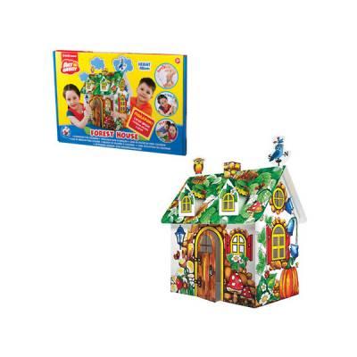Игровой домик для раскрашивания ArtBerry - Forest House, 48 см Erich Krause
