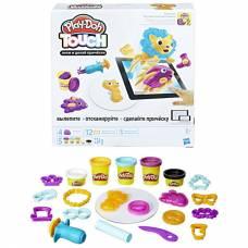 Набор для лепки из пластилина Play-Doh Touch - Лепи и делай прически Hasbro