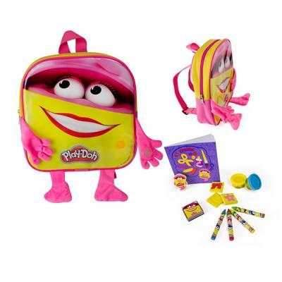 Набор для творчества Play Doh - Рюкзачок для девочки с ручками и ножками Darpeje