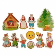 Картонные фигурки для кукольного театра