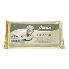 Паста для моделирования Darwi Classic, белая, 1 кг Darwi