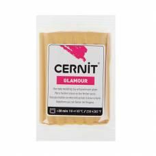 Полимерная глина Glamour, запекаемая, золотистая, 56 гр. Cernit