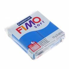 Пластика - полимерная глина 57г FIMO soft, синий Staedtler