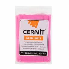 Полимерная глина Neon Light, запекаемая, фуксия, 56 гр. Cernit