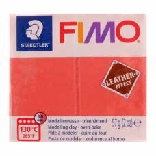 Полимерная глина запекаемая FIMO leather-effect, 57 г, арбуз Staedtler