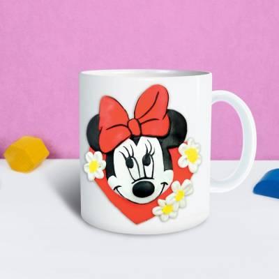 Кружка для декорирования полимерной глиной, Минни Маус Disney