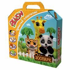 Пушистый пластилин Plush - Зоопарк Волшебный мир