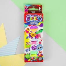 Набор креативного творчества «Воздушный пластилин», серия «Air Clay», 7 цветов ARCL-01-02 Данко Тойс / Danko Toys
