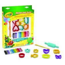 Набор для творчества с незасыхающим пластилином Crayola