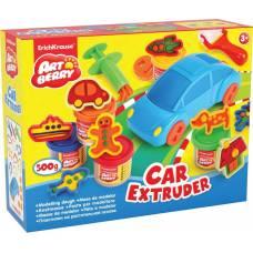 Набор для лепки из пластилина Car Extruder, 11 предметов Erich Krause