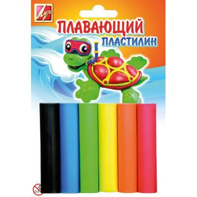 Плавающий пластилин, 6 цветов Луч