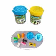 Набор для лепки из теста с формочкой, 7 цветов  Color Puppy