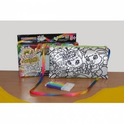 Набор для росписи My Color Clutch - Зайка и белочка  Данко Тойс / Danko Toys