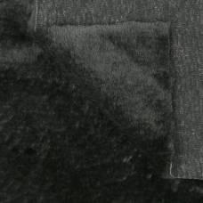 Искусственный мех 100% полиамид, плотность 380г/м2, 50*50 см (черный) Sima-Land