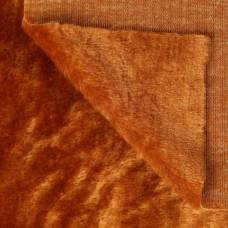 Искусственный мех 100% полиамид, плотность 380г/м2, 50*50 см (коричневый) Sima-Land