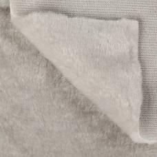 Искусственный мех 100% полиамид, плотность 380г/м2, 50*50 см (св. серый) Sima-Land
