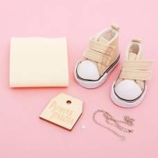 Кеды для куклы и набор по созданию сумочки «Маленькая нежность», 9 × 4 × 3.5 см Арт Узор