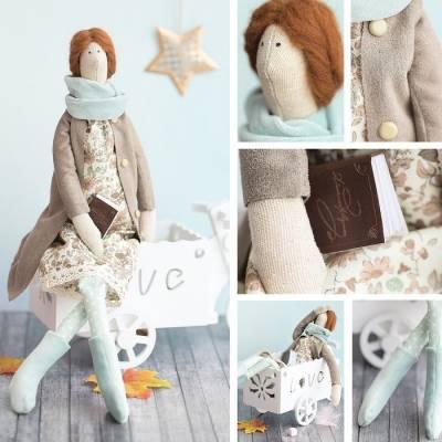Интерьерная кукла «Юсти», набор для шитья, 18 × 22 × 3.6 см Арт Узор