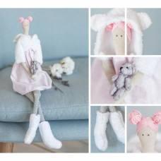 Интерьерная кукла «Алекса», набор для шитья, 18.9 × 22.5 × 2.5 см Арт Узор