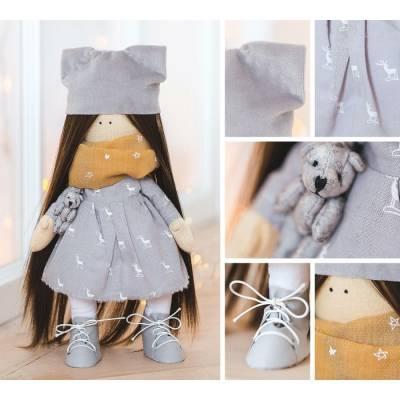 Интерьерная кукла «Софья», набор для шитья, 18.9 × 22.5 × 2.5 см Арт Узор