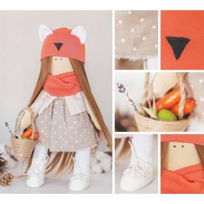 Интерьерная кукла «Алиса», набор для шитья, 18.9 × 22.5 × 2.5 см Арт Узор