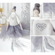 Интерьерная кукла «Мия», набор для шитья, 18.9 × 22.5 × 2.5 см Арт Узор