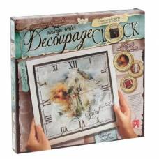 Набор для декупажа Decoupage Clock с рамкой - Часы Данко Тойс / Danko Toys