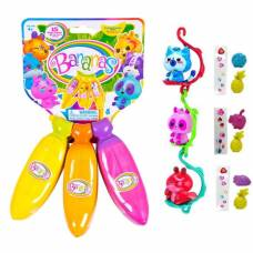 Игрушка с сюрпризом Bananas: связка из 3 бананов, цвета оранжевый, жёлтый, розовый Cepia