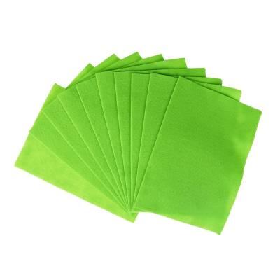 Декоративный фетр Soft, лайм, 10 листов Мир Рукоделия