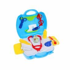 Игровой набор доктора в чемоданчике, 17 предметов Shantou