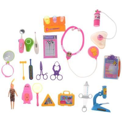 Набор доктора, для девочек, 23 предмета Junfa Toys