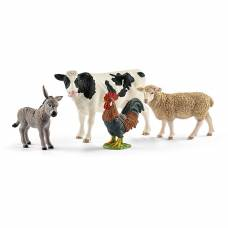 Набор из 4 фигурок Farm World - Животные фермы Schleich