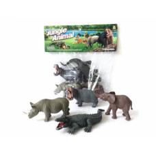 Набор Jungle Animal - Дикие животные, 4 шт